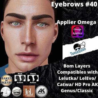 #TS#  Eyebrows #40 BOM - Lel Evo/Catwa HD Pro/ Classic