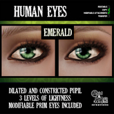 .:A&M:. Human Eyes - Emerald
