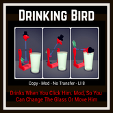Drinking Bird [Moon Bunny Inc.]