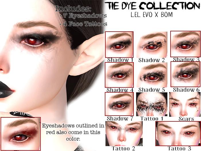 XS Primal EvoX Tie Dye Collection