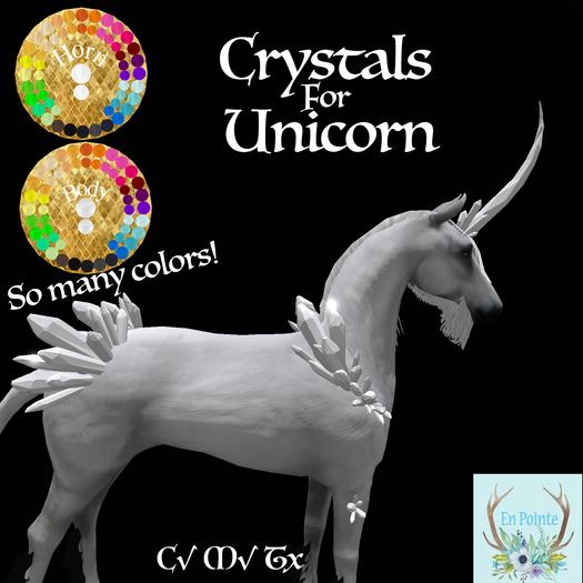 {EP} Crystal Unicorn (add to unpack)