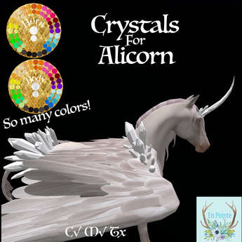{EP} Crystal Alicorn (add to unpack)