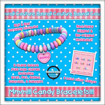 [: Kawaii Couture :] Candy Bracelet Heart
