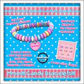 [: Kawaii Couture :] Candy Bracelet Heart {ADD ME}