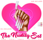 !! Pinky's Nails !! Nudity Set ' XXL Square