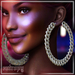 ENTROPY - ICEE CURB EARRINGS SILVER