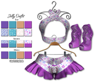 Graffitiwear Whimsy Jolly Outfit
