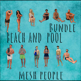 MESH PEOPLE -Himiko-BEACH&POOL (WEAR)