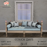 Bloom! - Couch Days Blue (PG) (Add me to Unpack)