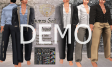 DEMO - Nala Design -James Suit Outfit Fatpack- Mesh Male Bodies