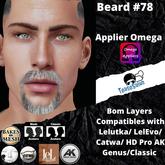 #TS# Beard #78  colors BOM - Lel Evo/Catwa HD Pro/AK/ Classic