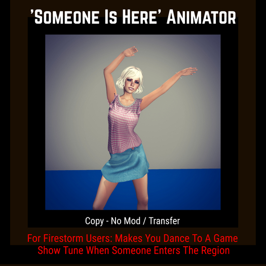 Firestorm: Someone Is Here Animator [Moon Bunny Inc.]