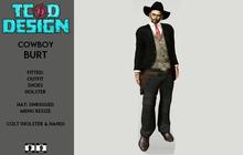 Outfit Man Cowboy ~ DEMO ~ Mesh