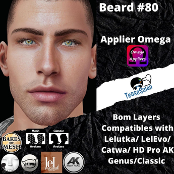 #TS# Beard #80 shave BOM - Lel Evo/Catwa HD Pro/AK/ Classic