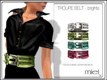 MIEL TROUPE BELT - bright