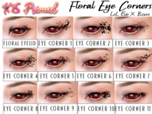 XS Primal EvoX Floral Eye Corners