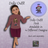 *L.A* Dolly Outfit Youth Pink (Add me)
