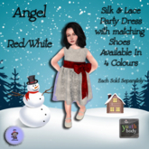*LA* Angel Outfit Youth Red (Add Me)