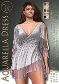 ***ArisArisB&W~Aquarelle Dress-