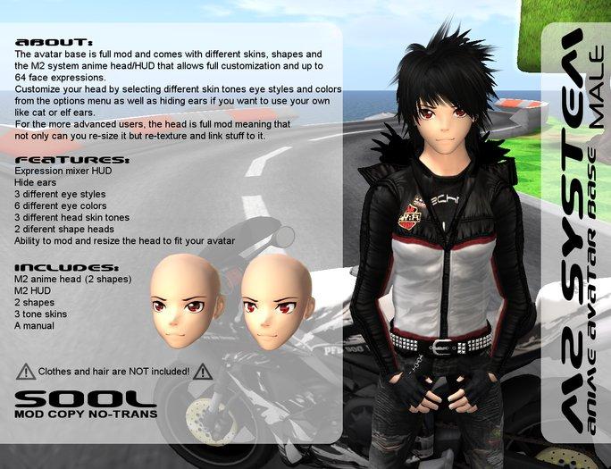 <UTILIZATOR> - Male Anime Avatar Base M2