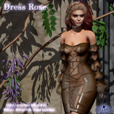 Brillancia - Dress Rose chocolate