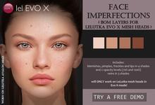 Izzie's - Face Imperfections (LeLutka Evo X)