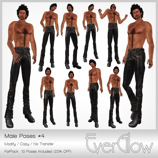 *EverGlow* - Boys Poses #04