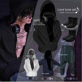 2.::GB::Pocket in hoodie / White
