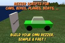 Vehicle Rezzer Script Pack - Rezzer scripts for vehicles, vehicle rezzer scripts for bike, car, plane, boat, etc