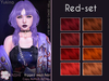 [^.^Ayashi^.^] Yukina hair-Red set