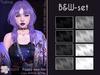 [^.^Ayashi^.^] Yukina hair-B&W set