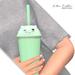 Halo . Kitten Tumbler . Green .