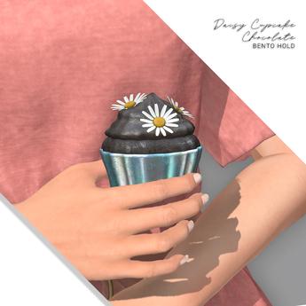 Halo .  Daisy . Cupcake . Chocolate . Bento Holdable & Rez Day