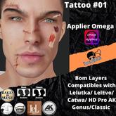 #TS# Tattoo #01 - B O M /Lel/Catwa/Ak/classic