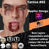#TS# Tattoo #02 - B O M /Lel/Catwa/Ak/classic