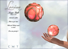 LORIEN MAGIC FLOATING BALL BOXED