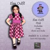 *LA* Elsa Dress Youth PInk (Add Me)