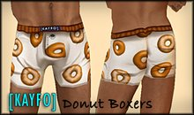 [KAYFO] Donut Boxers