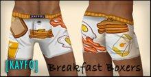 [KAYFO] Breakfast Boxers
