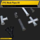 [FYI] Mesh Pipe Kit H1