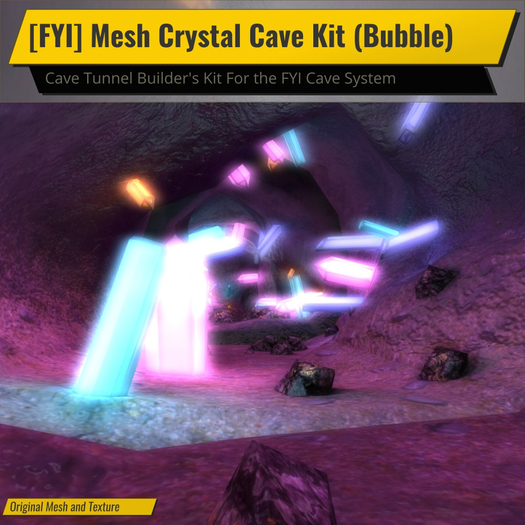[FYI] Mesh Crystal Tunnel Cave Kit (Bubble)