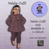 * L.A * Natalie Outfit Youth Pink (Add Me)