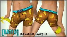 [KAYFO] Banana Boxers
