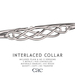 Interlaced collar vendor no9