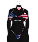 *CY* Raee . July Flag Star . Bikini // (Add)