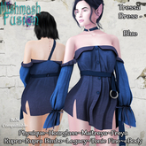 ~*MF*~ Tressa Dress - Blue (Add or Rez)