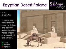 Salome design - Egyptian Desert Palace