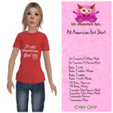 {~LMI~} All American Girl Shirt {BT-BY-TW-TDB-TWEEN} (Unpacker)