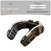 :::SOLE::: SA - Collar U-Probe (Orange)