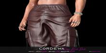 *CORDEWA* CARGO MALE PANTS WINE